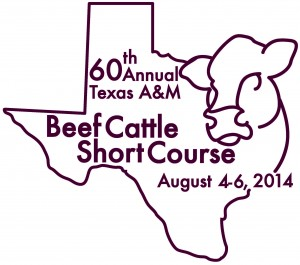 Beef Cattle Short Course Texas A&M
