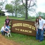 New Jordens Catttle Co. Sign 011