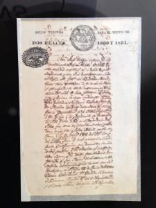 Land Grant to Maria del Carmen Calvillo from 1832