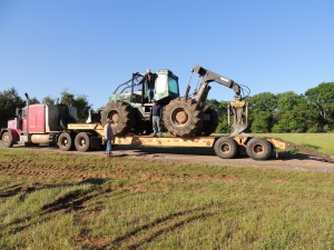 tractor on ranch