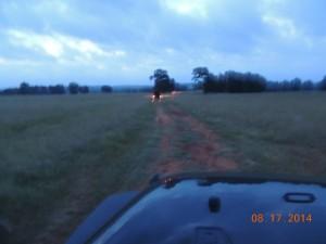Truck at Dawn