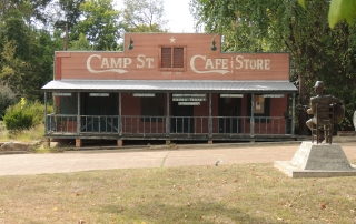 Camp Street Cafe in Crocket, TX